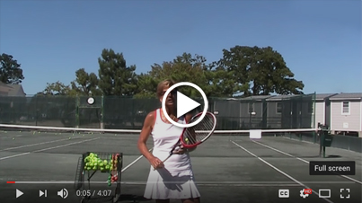 How to hit a slice serve the easy way