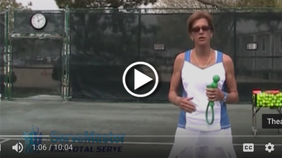 Improve your serve in 4 easy steps with ServeMaster - Step 1