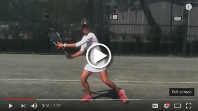 ServeMaster for the modern forehand