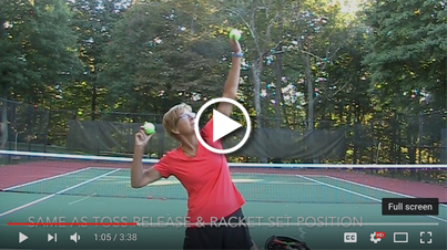 Throw to serve - 3 steps to a better serve