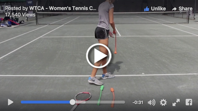 WTCA uses servemaster to practice the throwing motion