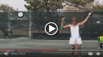 Improve your serve in 4 easy steps with ServeMaster - Steps 3 and 4