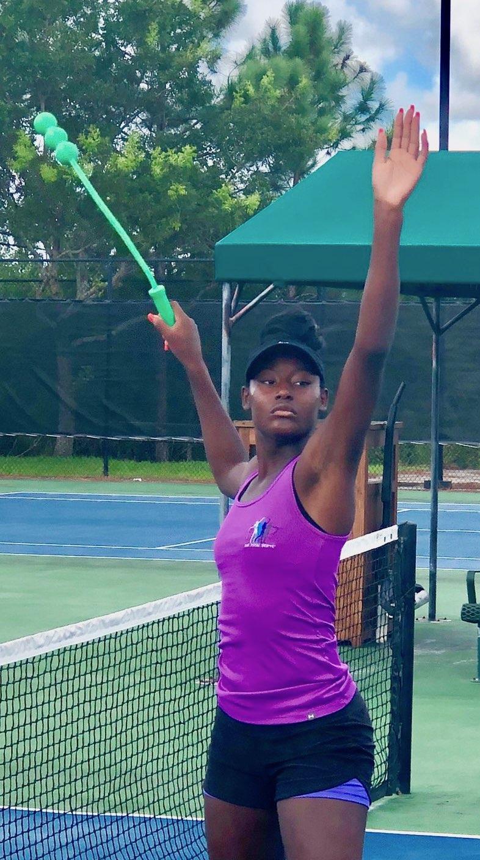 WTA Player, Alycia Parks, Endorses ServeMaster Tennis Training Tool